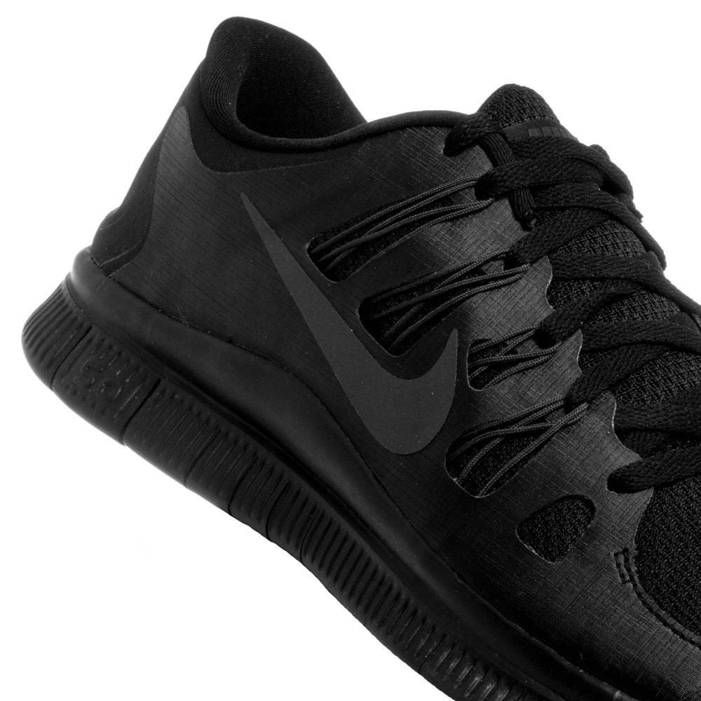 super popular deb60 ec7c9 all black nike free runs