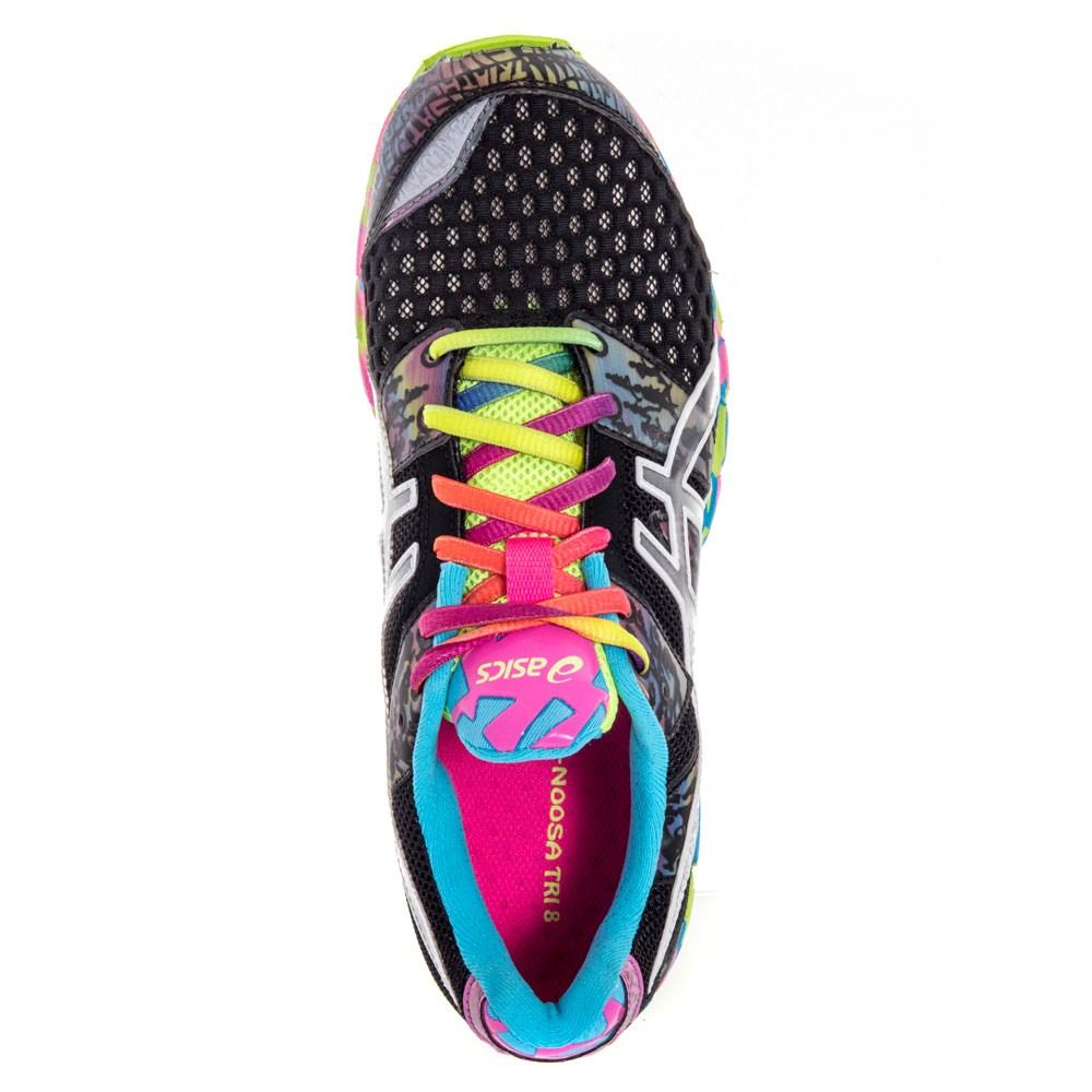 Asics Gel Noosa Tri  Womens Running Shoes Black Confetti