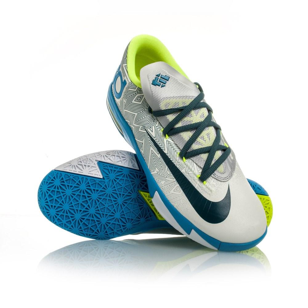 Kids Nike Basketball Shoes Green And White  7e771ac3da31