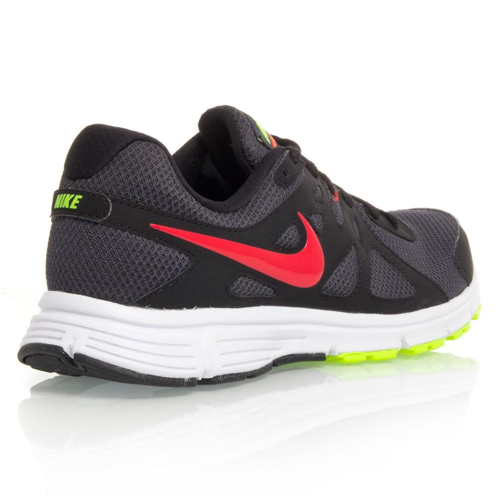 nike revolution 2 black shoes for sale