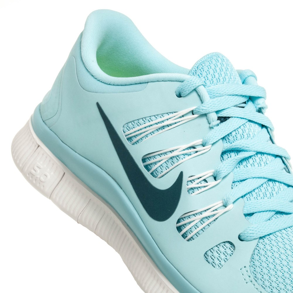 Nike Women's Light Blue Free Run 5.0